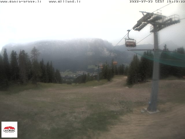 Webcam Ski slopes La Crusc/Santa Croce